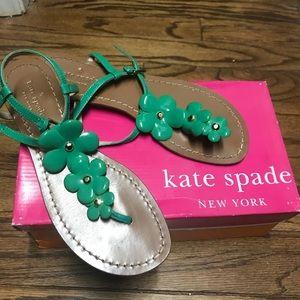 Kate spade floral sandals
